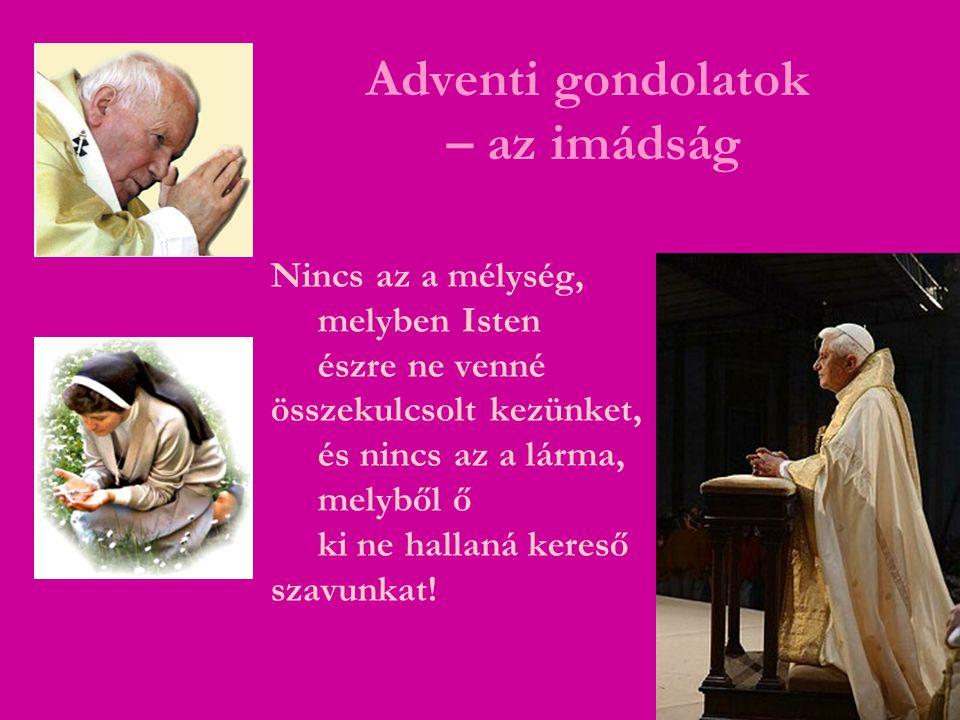 Adventi gondolatok – a bűnbánat Isten nemcsak a bűneinket látja, hanem azt a vágyat is, mellyel felsírunk hozzá.