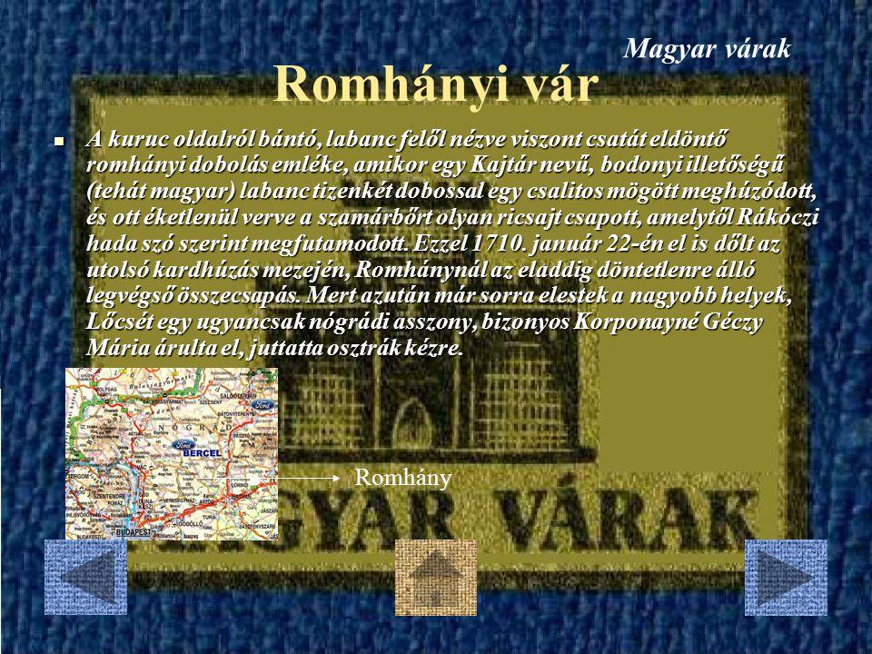 Kölesdi vár A Rákóczi szabadságharc idején az első kuruc csapatok Sándor László és Zana György vezetésével 1704 elején jártak a megyében.