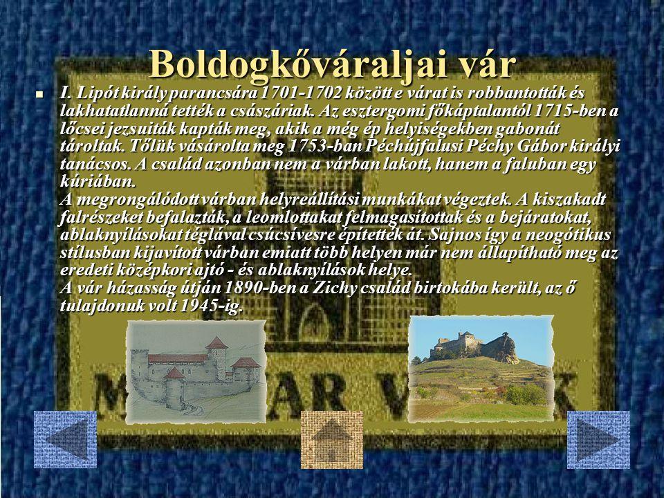 Nagyecsedi vár 1701-ben, a Rákóczi Ferenc vezette szabadságharc kezdetén a németek lerombolták a várat.