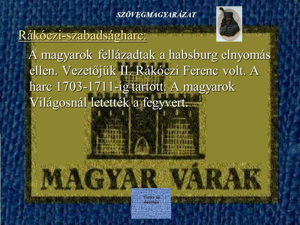 vissza az elejére Magyar várak VÉGE