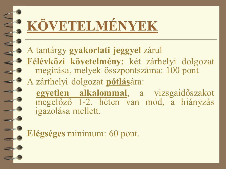 A tárgy: Számvitel alapjai kódja: SZAM1KOMPZS Kredit értéke: 5 Kontakt órák száma: 2 +2 Tantárgyfelelős: dr. Zelenka Józsefné Előadó: dr. Zelenka Józs