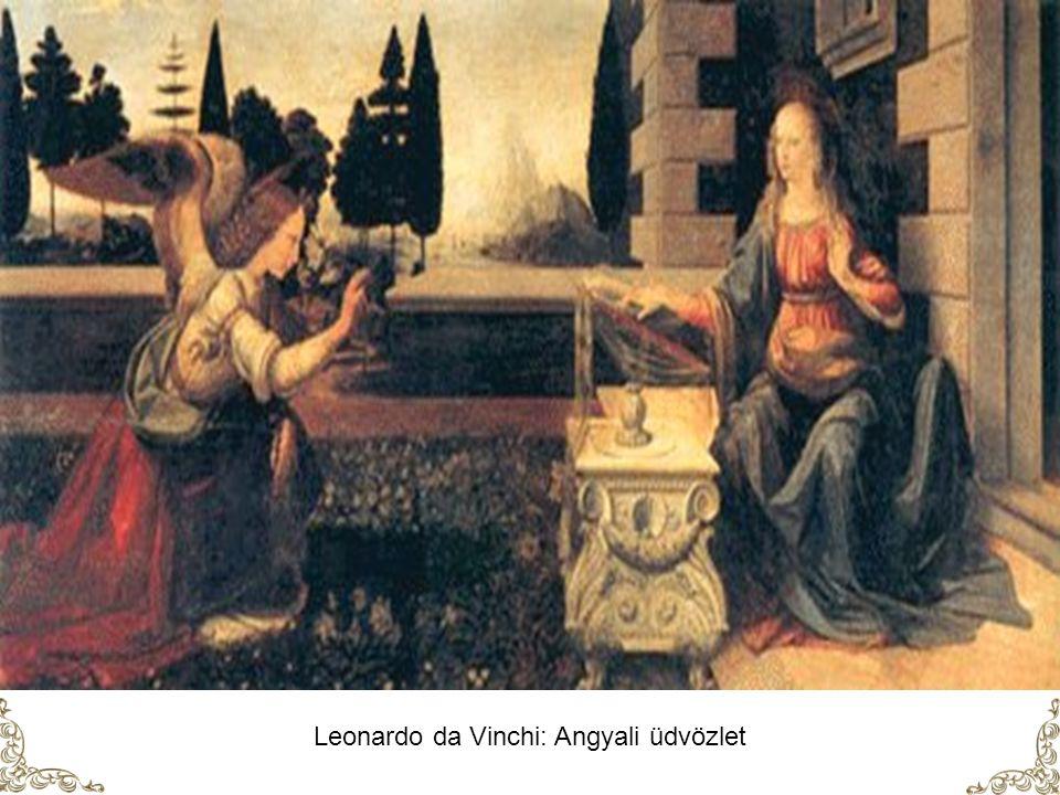 El Greco Angyali üdvözlet ( 1600 körül )