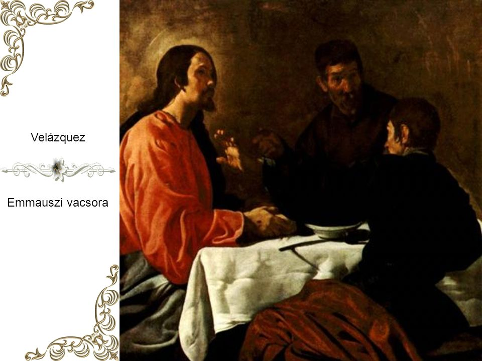 Caravaggio ( Michelangelo Merisi ) Az emmauszi vándorok