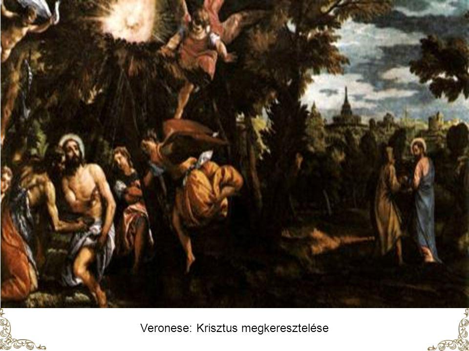 Paul Brill Krisztus megkeresztelése
