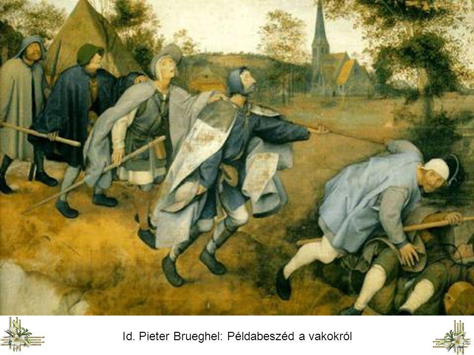 Poussin Jézus meggyógyítja a jerikói vakot