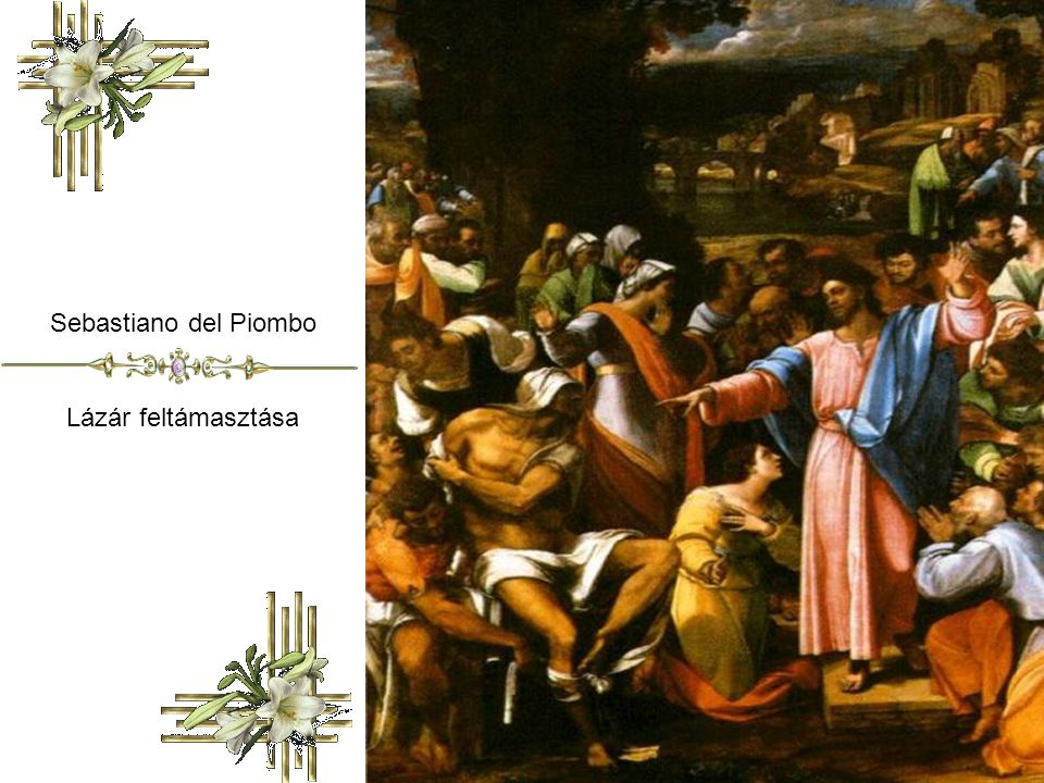 Juan de Flandes Lázár feltámasztása