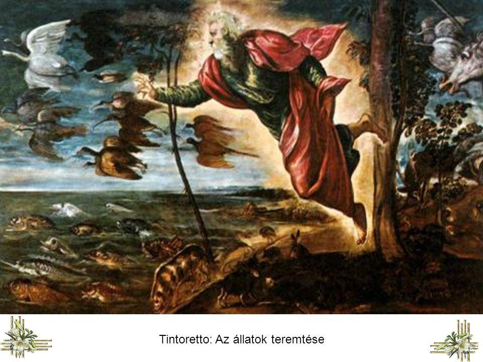 Michelangelo Buonarroti: A bolygók és csillagok teremtése