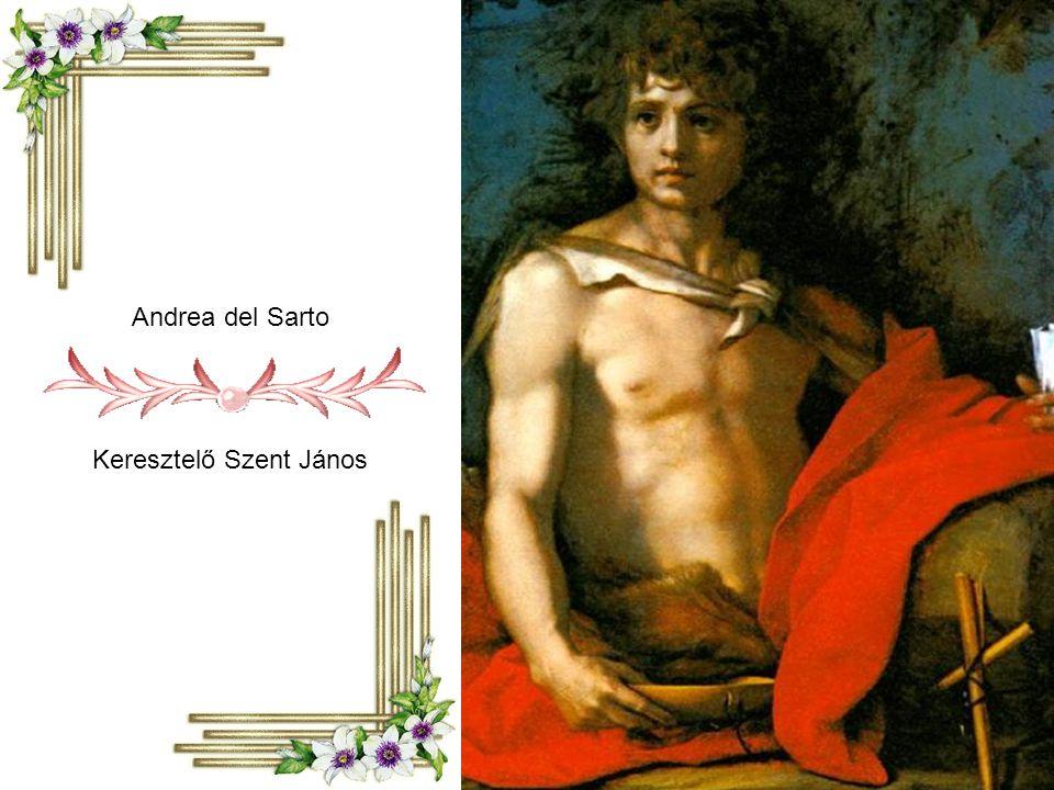 Caravaggio: Keresztelő Szent János