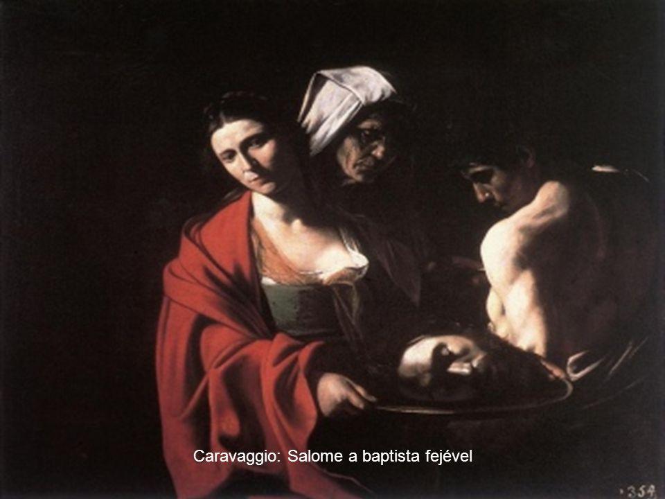 Caravaggio: Salome St Keresztelő Szent János fejével