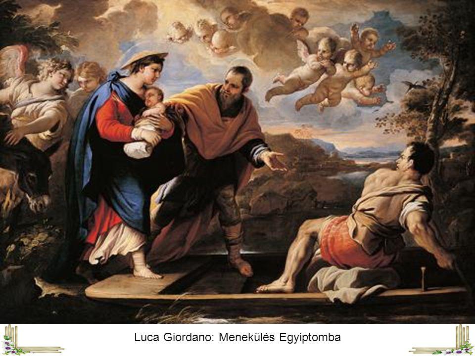 Fra Angelico: Menekülés Egyiptomba ( 1435 körül )