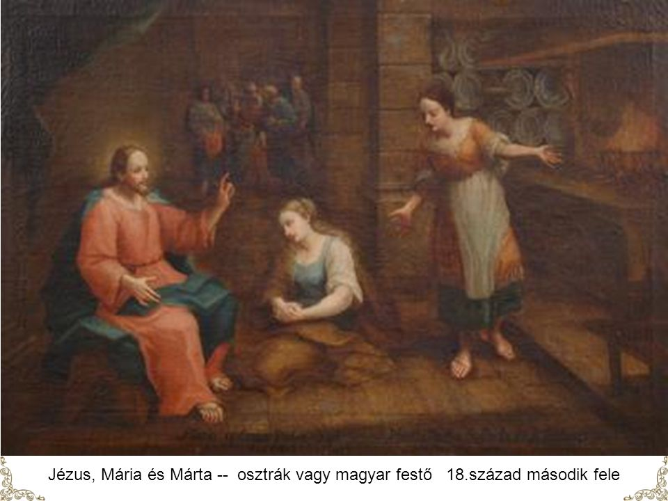 Velázquez: Jézus Mária és Márta házában