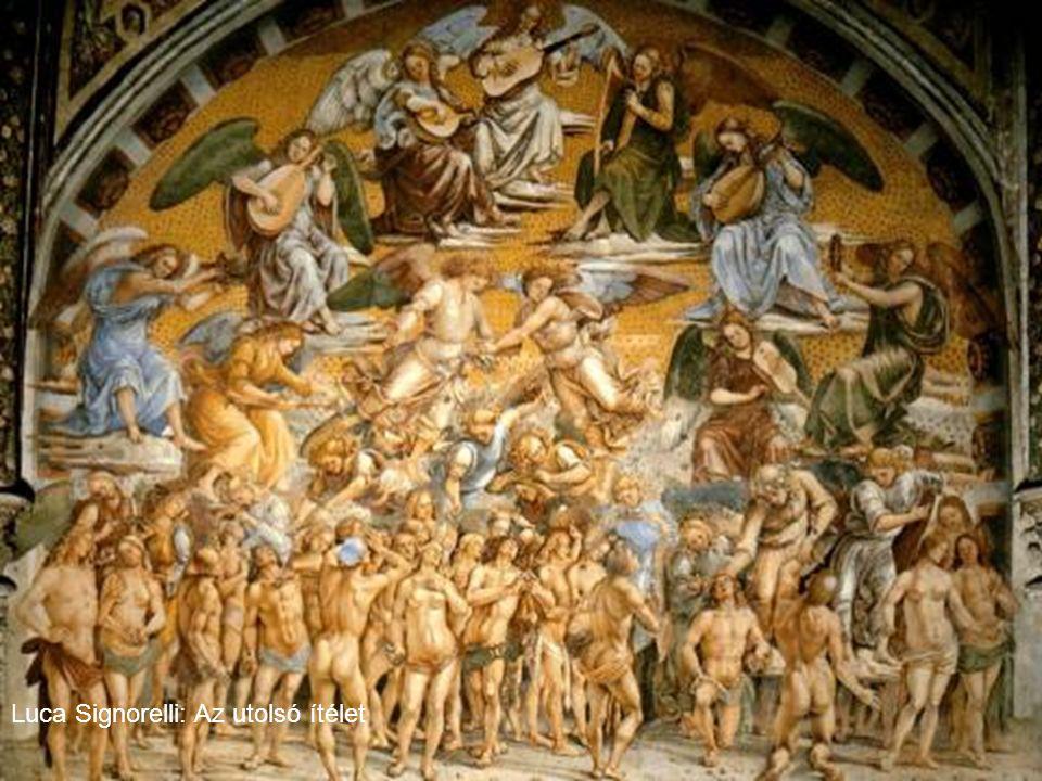 Michelangelo Buonarroti Utolsó ítélet ( részlet ) Krisztus Máriával