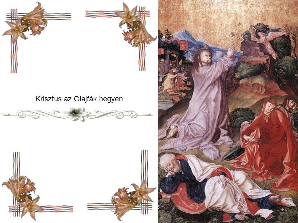 Andrea Mantegna: Krisztus az Olajfák hegyén