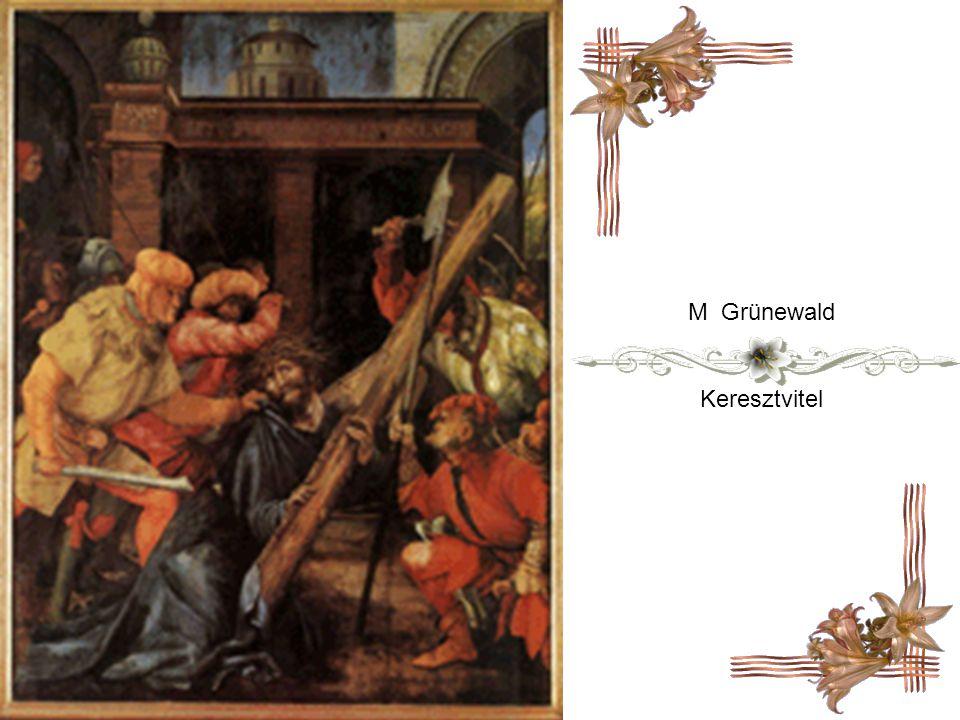 Raffaello Santi Krisztus elesik a kereszttel ( 1516 )