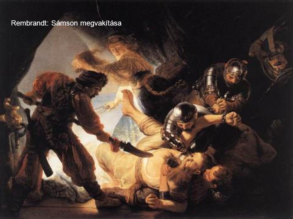 Rembrandt Az irgalmas szamaritánus ( 1632 - 1633 )