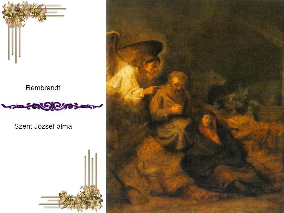 Rembrandt Szent József álma
