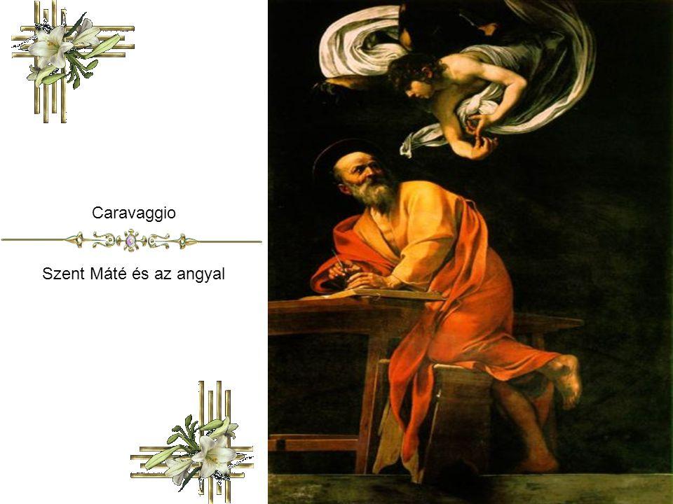 Caravaggio Szent Máté és az angyal