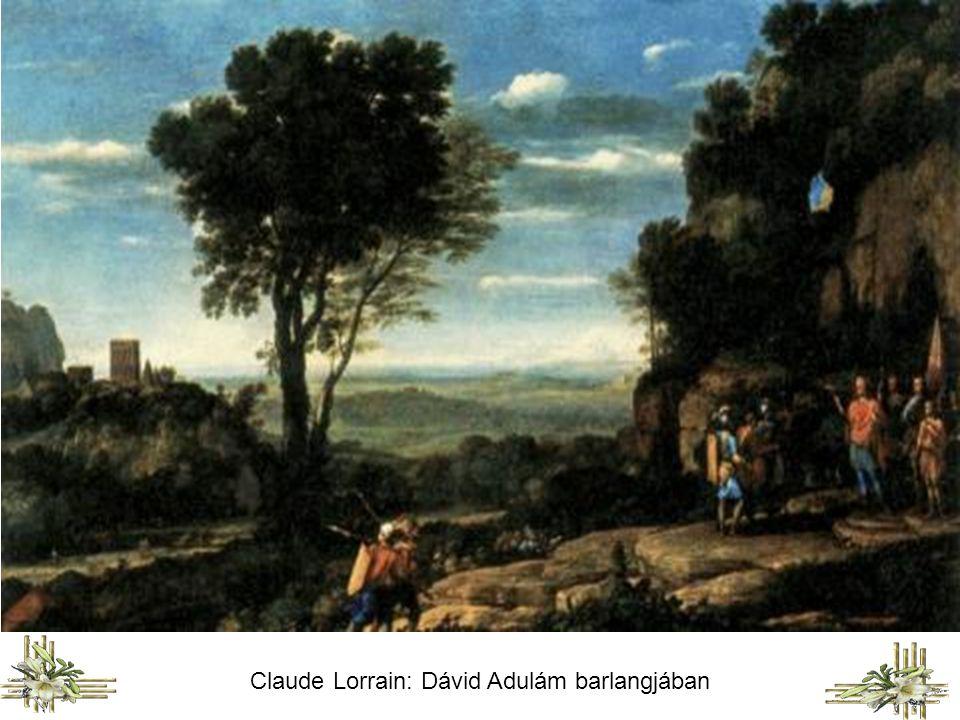 Claude Lorrain: Dávid Adulám barlangjában