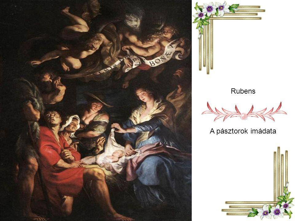 Georges de la Tour: Pásztorok imádása