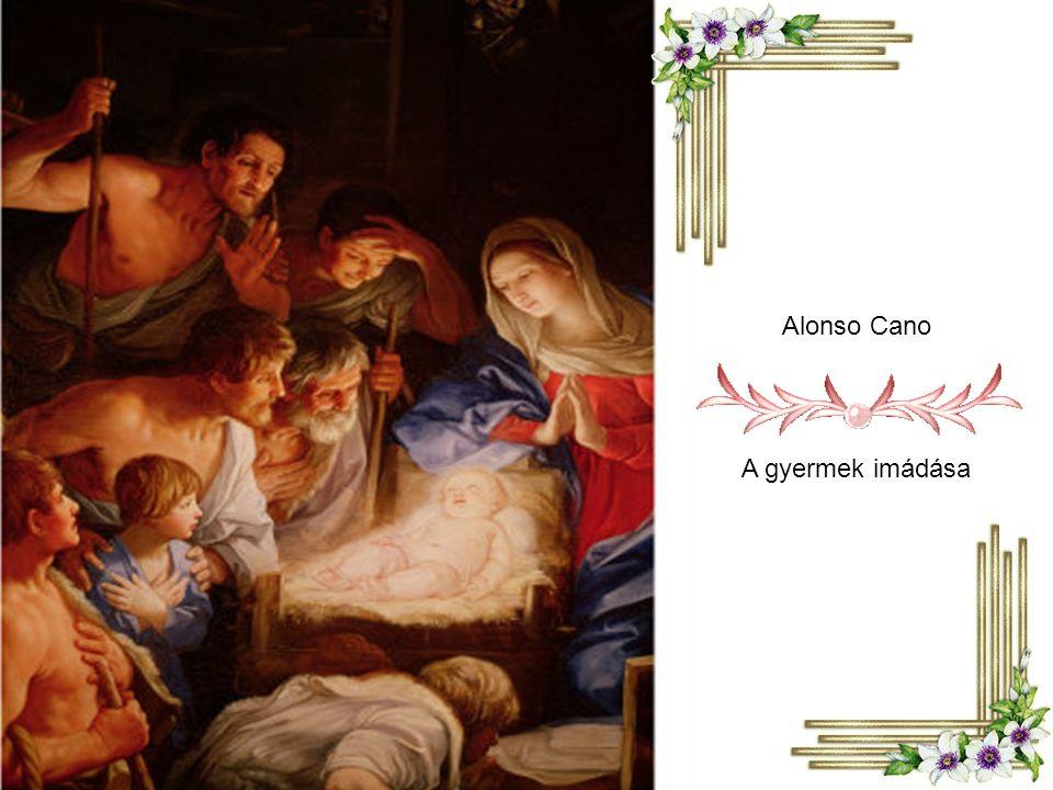 Francisco de Zubaran: A gyermek és Mária Názáretben
