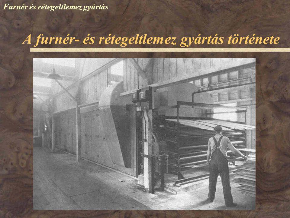 Furnér és rétegeltlemez gyártás 1993 – Veszprém: NORBA Rt.