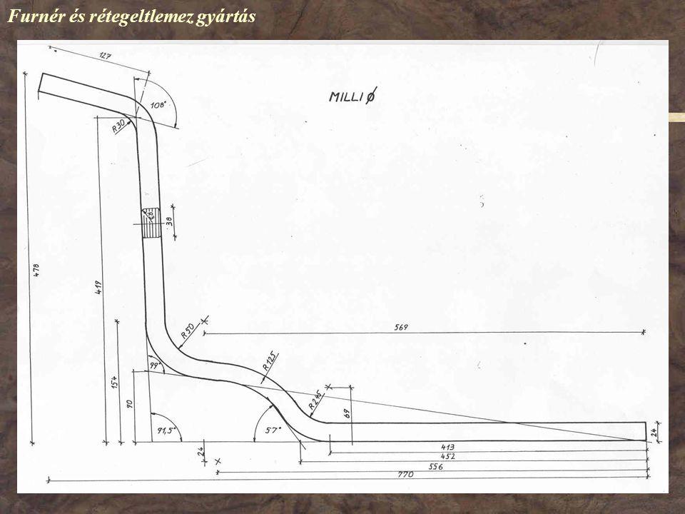 Furnér és rétegeltlemez gyártás