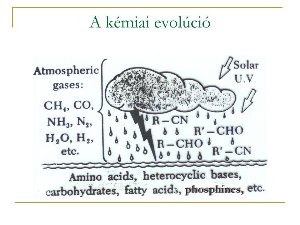 A kémiai evolúció