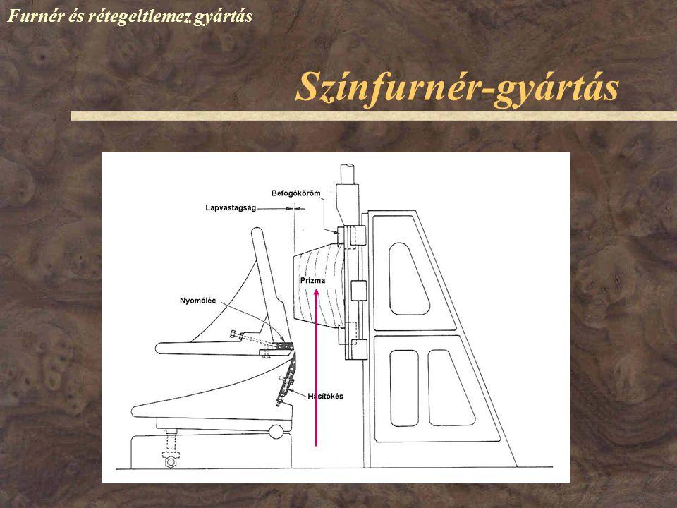 Színfurnér-gyártás Furnér és rétegeltlemez gyártás