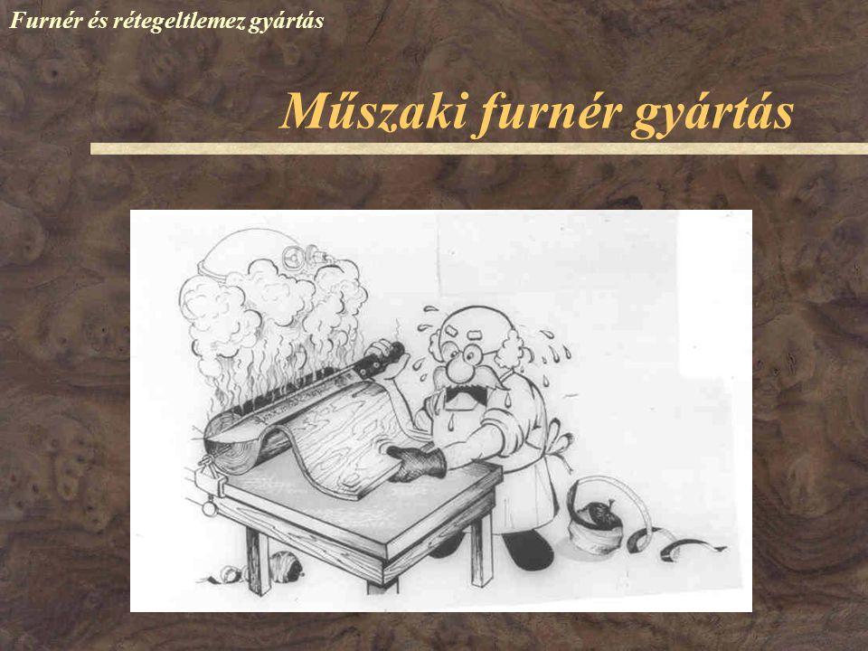 Műszaki furnér gyártás Furnér és rétegelt lemez gyártás A nedves fűrészpor megóvja a nedves rönköket Magyarországon nem alkalmazzák Nedves fűrészporban való tárolás