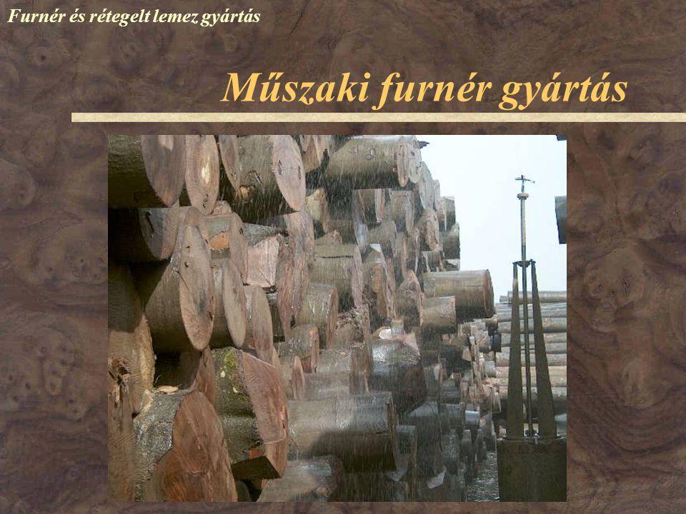 Műszaki furnér gyártás Furnér és rétegelt lemez gyártás