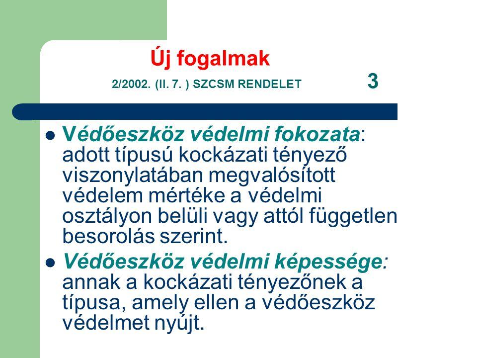 Új fogalmak 2/2002.(II. 7.