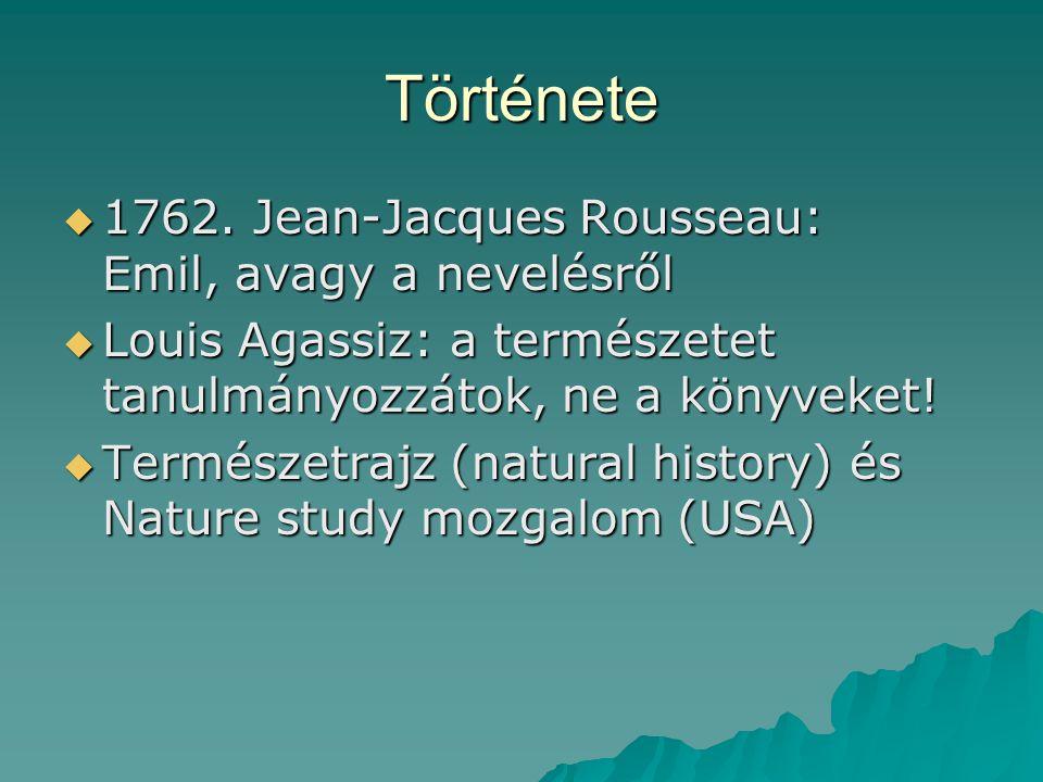 Története  1762.