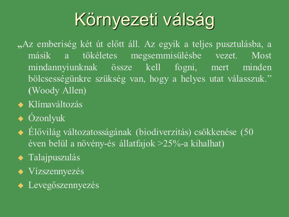 Nemzeti Környezeti Nevelési Stratégia 1998, 2003  Anyagi kultúra.