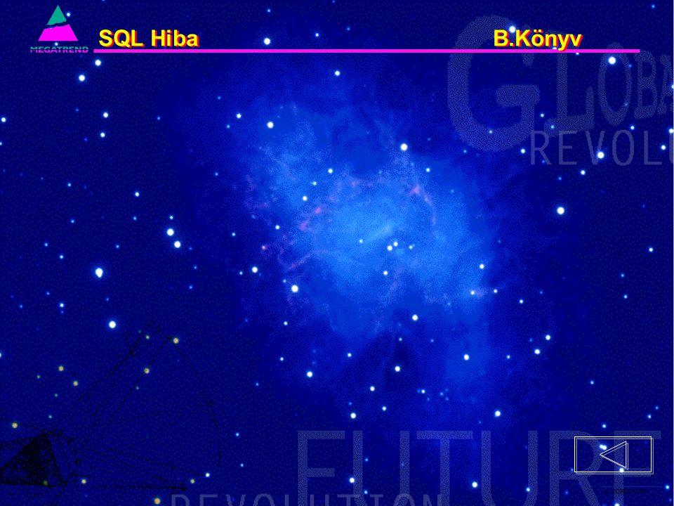 12. IS2PRI2 02/96 SQL Hiba B.Könyv