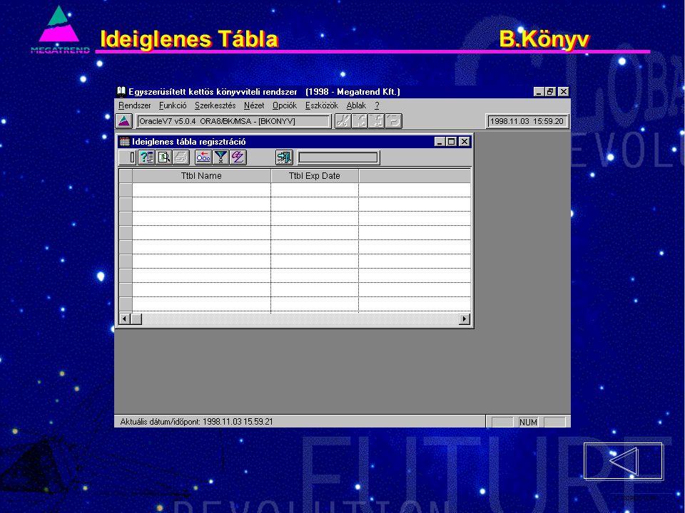17. IS2PRI2 02/96 Ideiglenes Tábla B.Könyv