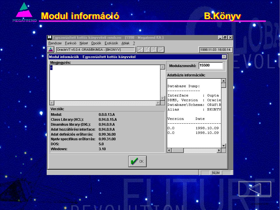 18. IS2PRI2 02/96 Modul információ B.Könyv