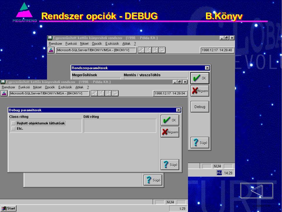 21. IS2PRI2 02/96 Rendszer opciók - DEBUG B.Könyv