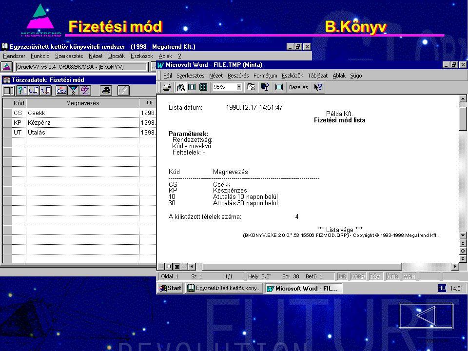 31. IS2PRI2 02/96 Fizetési mód B.Könyv