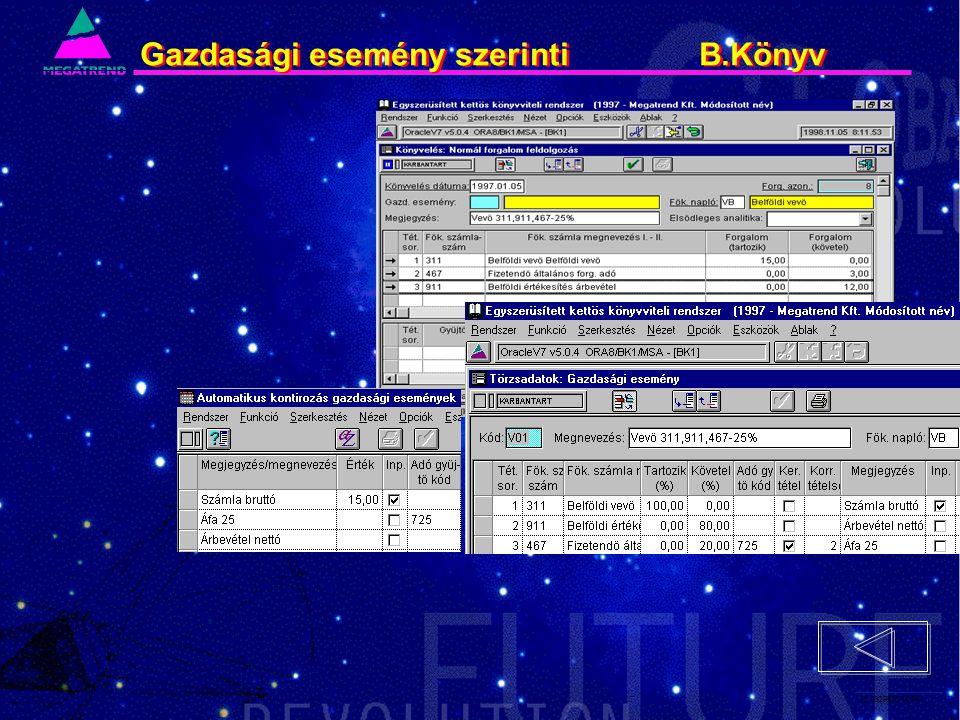 52. IS2PRI2 02/96 Gazdasági esemény szerinti B.Könyv