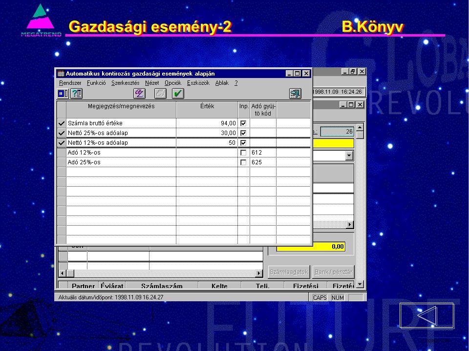 53. IS2PRI2 02/96 Gazdasági esemény-2 B.Könyv