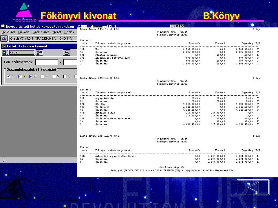 66. IS2PRI2 02/96 Főkönyvi kivonat B.Könyv