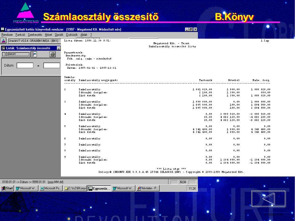 67. IS2PRI2 02/96 Számlaosztály összesítő B.Könyv