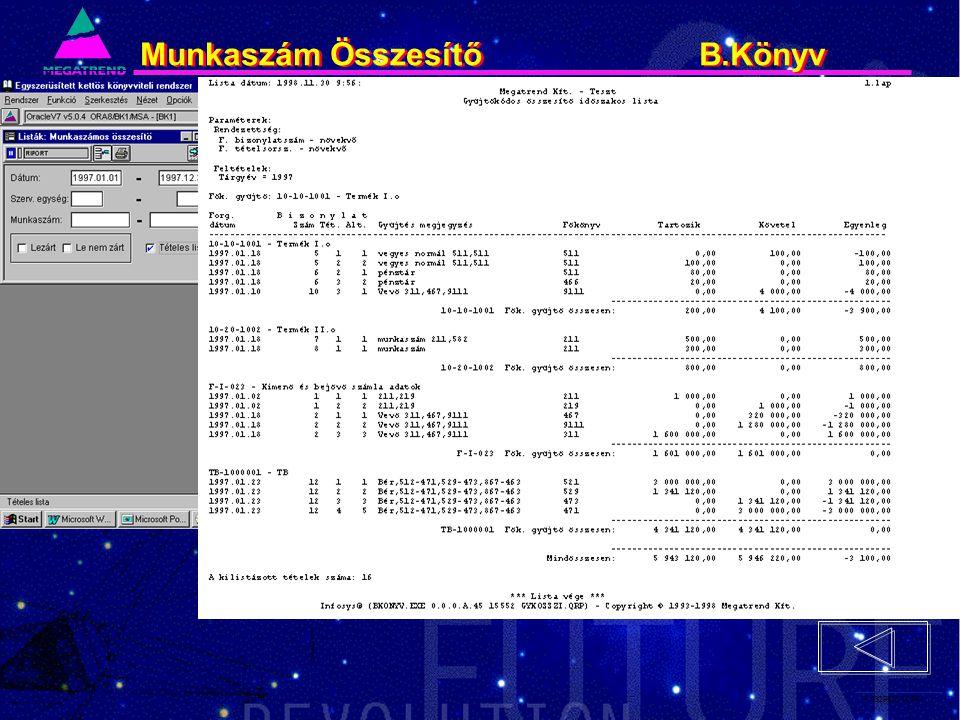 74. IS2PRI2 02/96 Munkaszám Összesítő B.Könyv