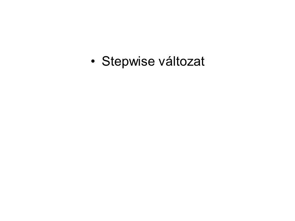 Stepwise változat