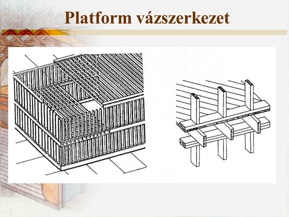 Platform vázszerkezet