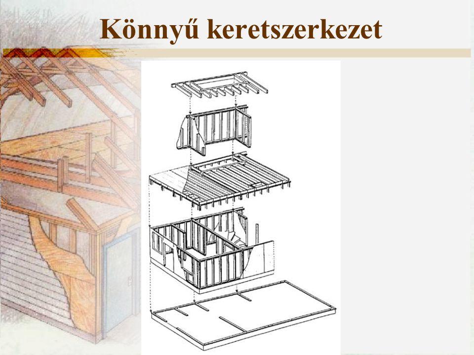Könnyű keretszerkezet