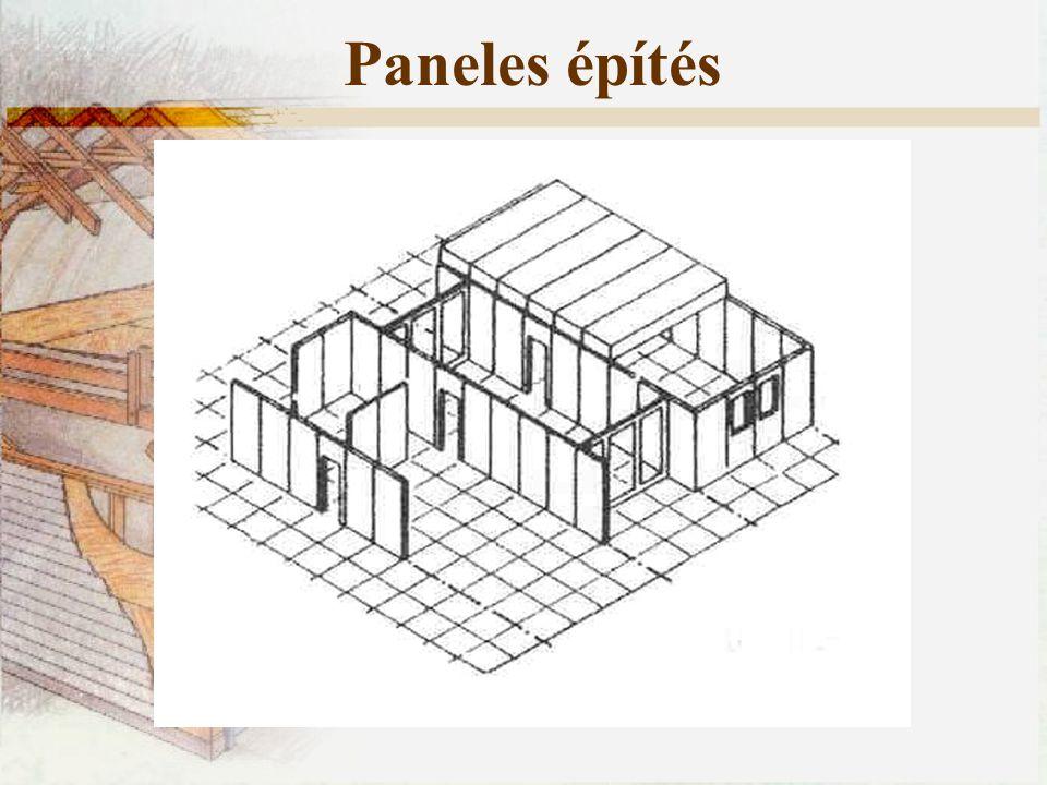 Paneles építés
