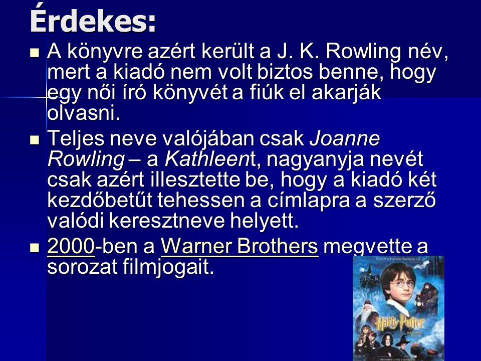 Daniel Radcliffe, Rupert Grint & Emma Watson A világhírt J.K.