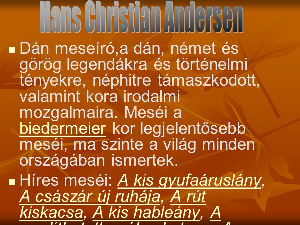 Hans Christian Andersen Hans Christian Andersen