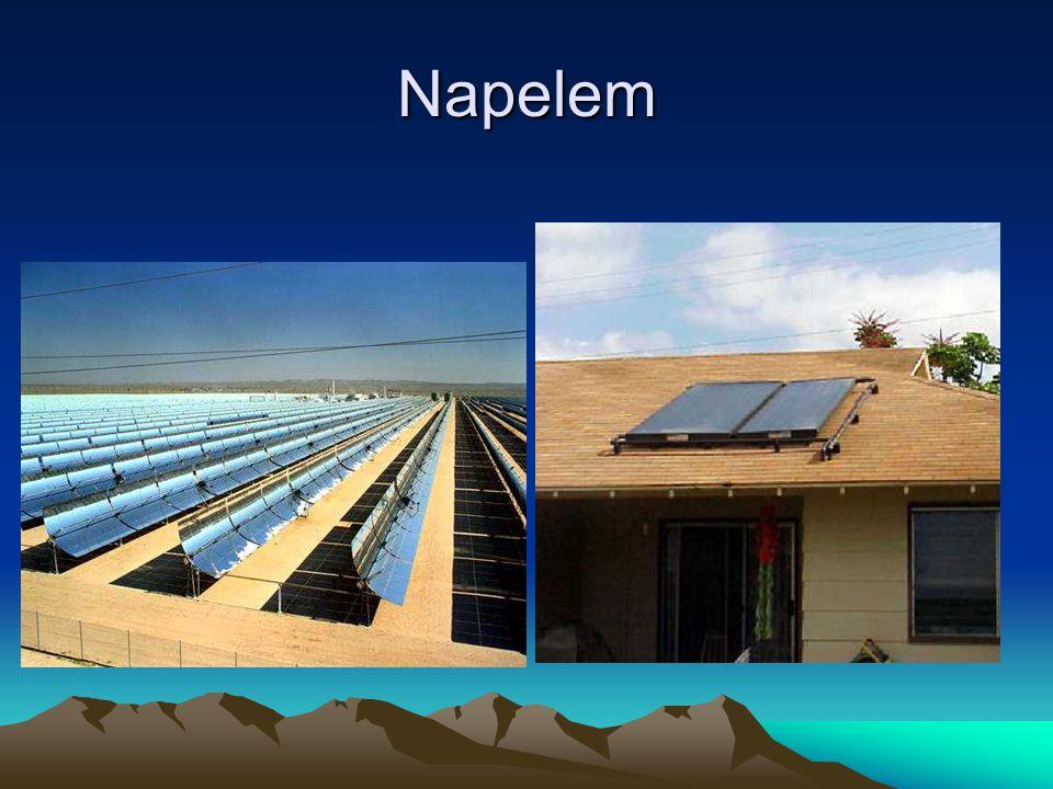 Geotermikus energia Föld mélyében található energia hasznosítása.